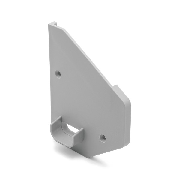 End cap left for canopy wall clamping profile 1200, 44.1230.000.46