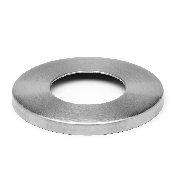 Base cover for wall and floor flange, Stainless steel design, 11.0512.xxx.xx