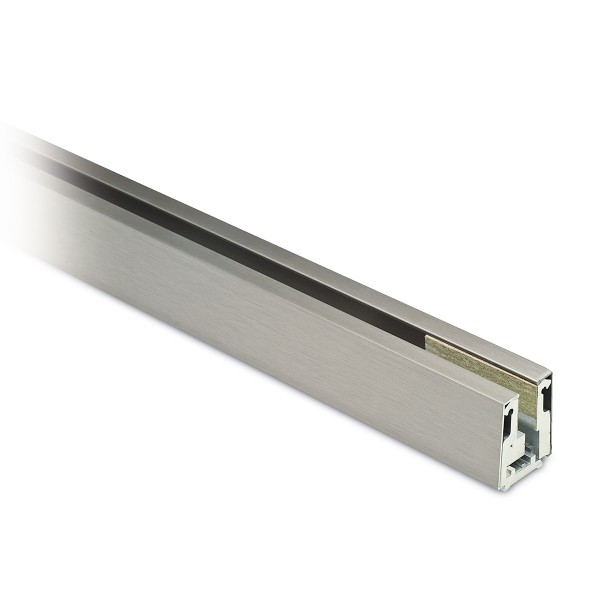 Clamping glass profile, cutted Evi