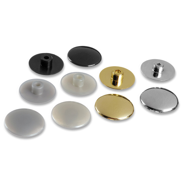 Nylon cover cap for lateral screws