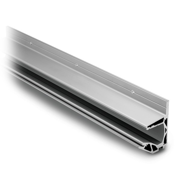 Canopy wall clamping profile, cutted, 44.1200.999.46
