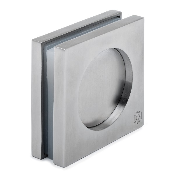 Square recessed grip, Stainless steel design, 47.4103.465.xx