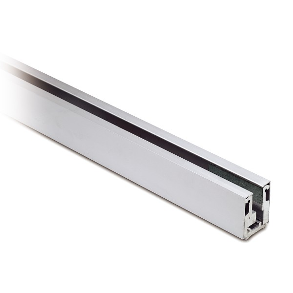 Clamping glass profile