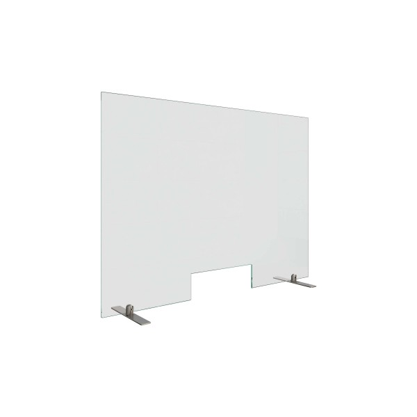 Counter sneeze guard, with cut-out, 20.067x.000.20