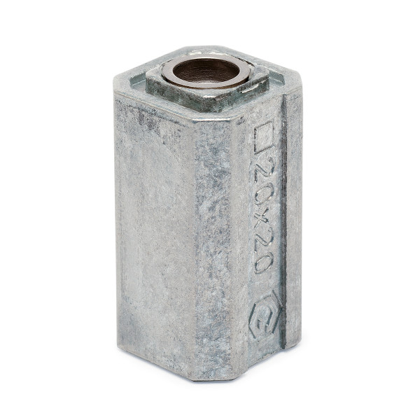 Tube adapter for square tube