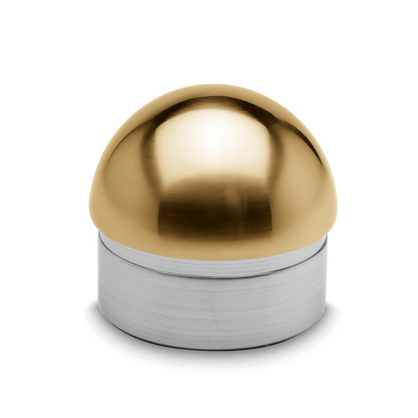Domed end cap