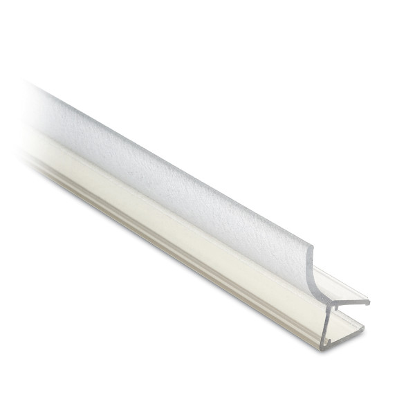 Seal lip for glass door