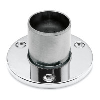 Wall and floor flange