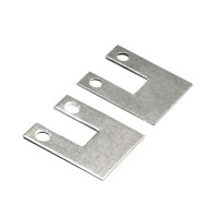 End caps for clamping glass profile 4200 Willeen