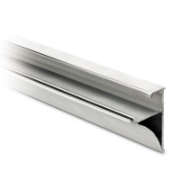 Glass wall shelf profile, cutted